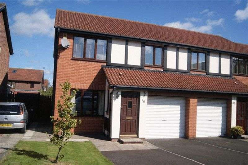 3 Bedrooms Semi Detached House for sale in Edgemount, Killingworth