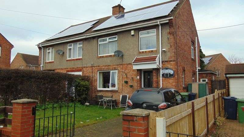 3 Bedrooms Semi Detached House for sale in Wensleydale Avenue, Usworth Washington