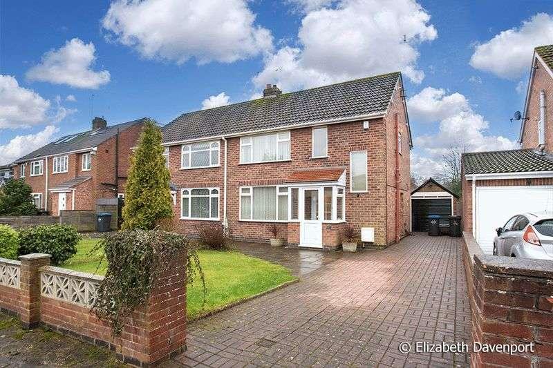 3 Bedrooms Semi Detached House for sale in Heather Road, Binley Woods