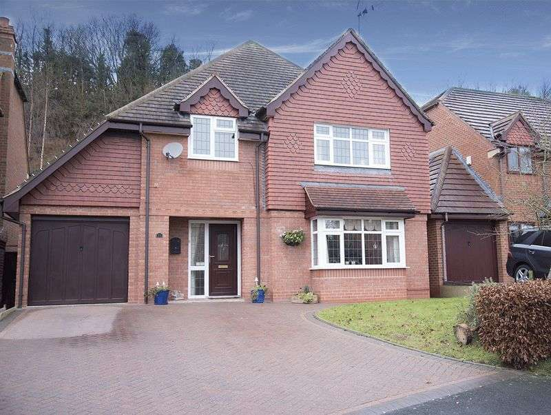 4 Bedrooms Detached House for sale in Hellier Drive, Wombourne