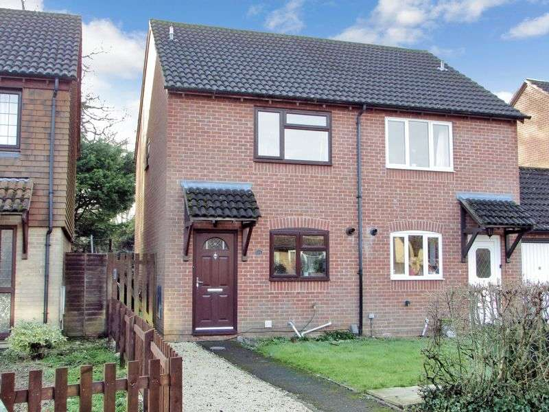 2 Bedrooms Semi Detached House for sale in Fuller Close, Thatcham