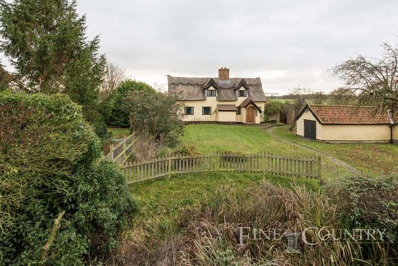 4 Bedrooms Detached House for sale in Hoxne