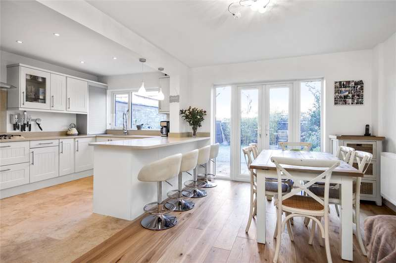 4 Bedrooms End Of Terrace House for sale in Hurst Lodge, Gower Road, Weybridge, Surrey, KT13