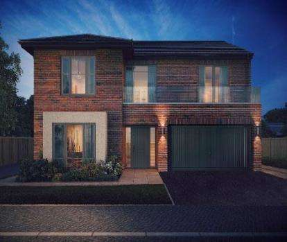 5 Bedrooms Detached House for sale in Ambience, Linton, Swadlincote, Derbyshire