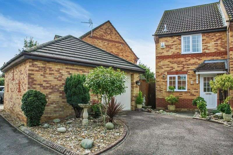 2 Bedrooms Terraced House for sale in Long Ayres, Caldecotte, Milton Keynes