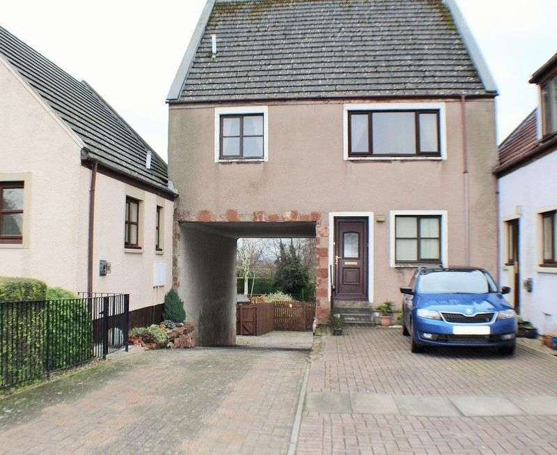 3 Bedrooms Terraced House for sale in 3 East Mill Court, Strathmiglo, KY14 7RF