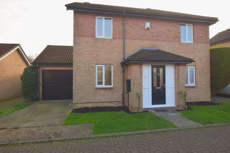 3 Bedrooms Detached House for sale in Bottesford Close, Emerson Valley, Milton Keynes