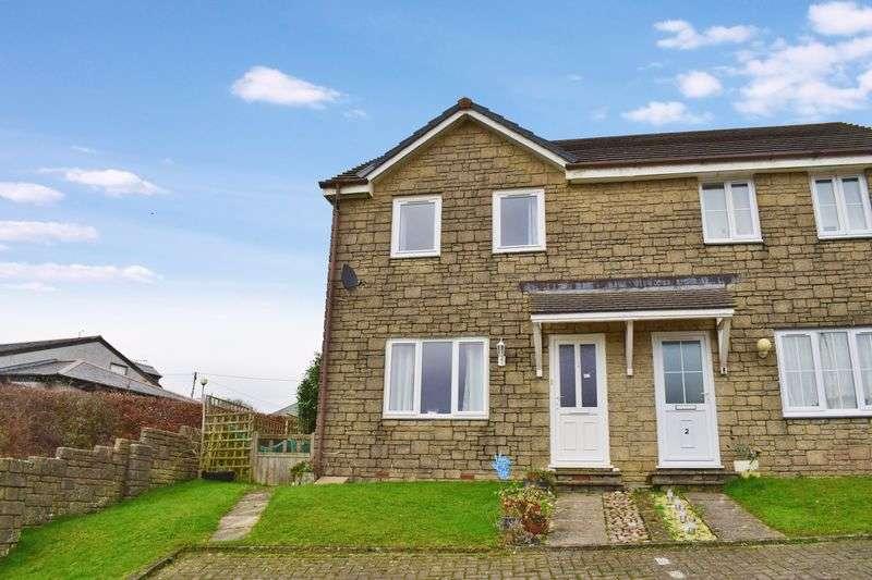 2 Bedrooms Semi Detached House for sale in Broad Park, St Keyne, Liskeard