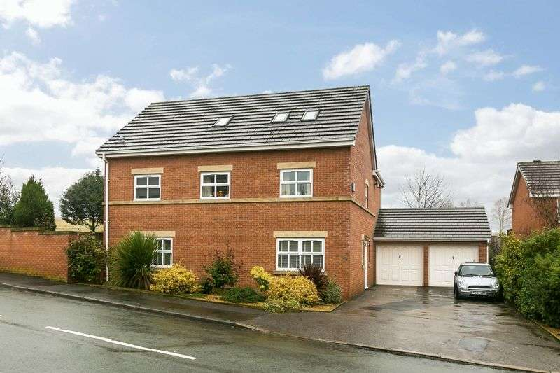 5 Bedrooms Detached House for sale in Cranleigh, Standish, WN6 0EU