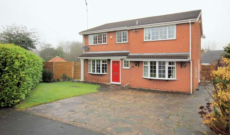 4 Bedrooms Detached House for sale in Kingfisher Crescent, Fulford