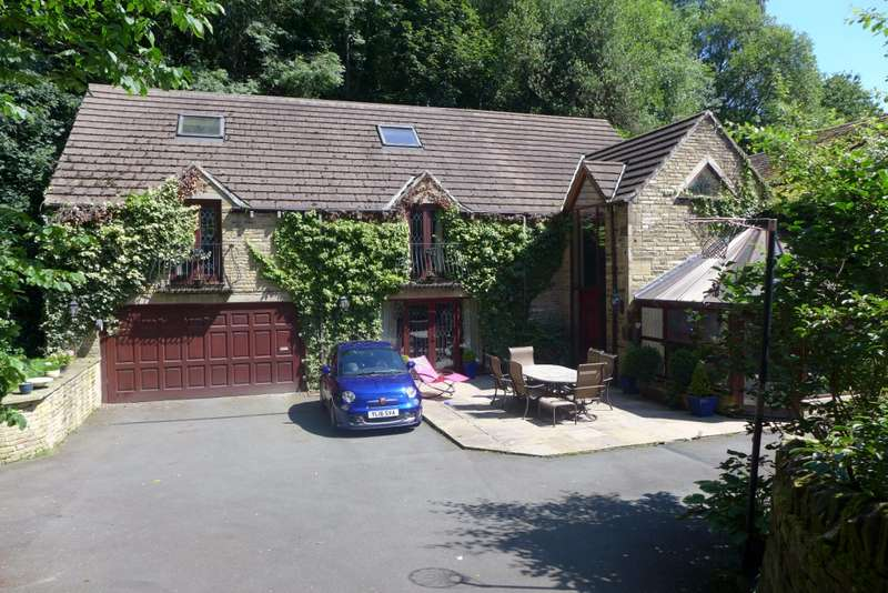 6 Bedrooms Detached House for sale in Dickwood Cottage Netheroyd Hill Road, Huddersfield, HD2