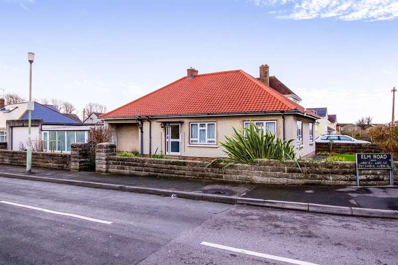 3 Bedrooms Detached Bungalow for sale in Elm Road, Porthcawl