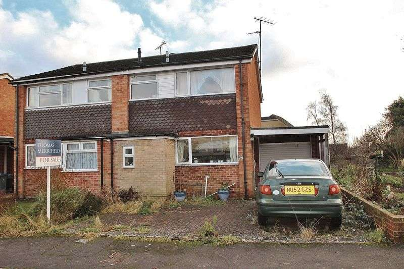 3 Bedrooms Semi Detached House for sale in BURWELL DRIVE, Witney OX28 5LZ