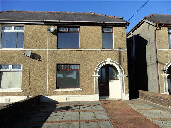 2 Bedrooms Semi Detached House for sale in Bethania Road, TUMBLE, Llanelli
