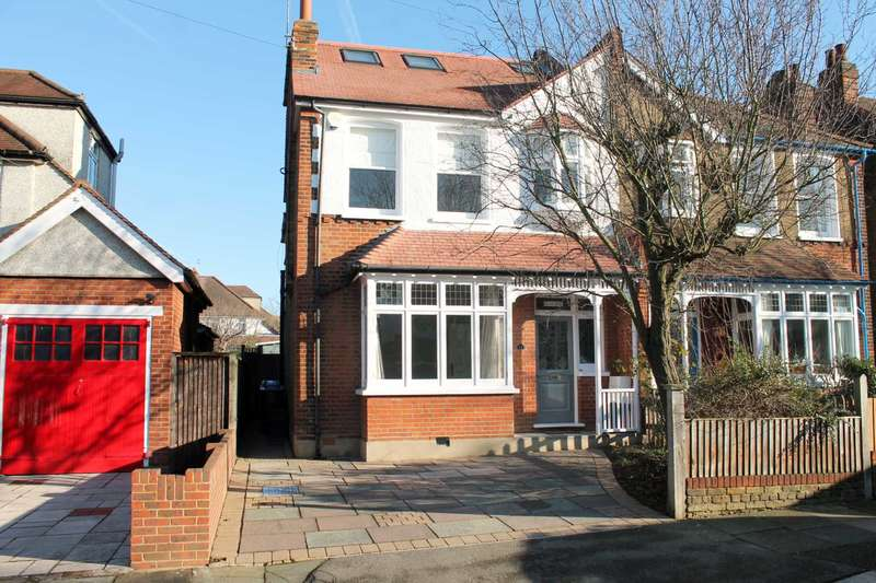 5 Bedrooms Semi Detached House for sale in Orchard Avenue, New Malden
