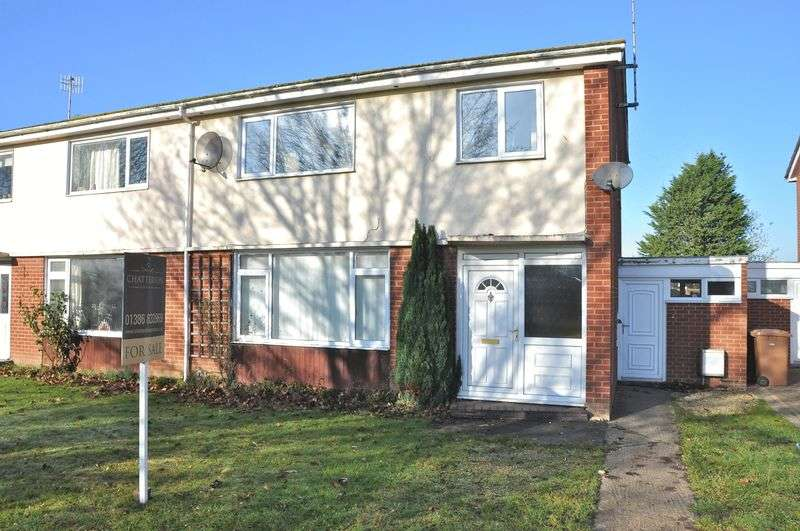 3 Bedrooms Semi Detached House for sale in Dudley Road, Honeybourne, Evesham, WR11 7XP