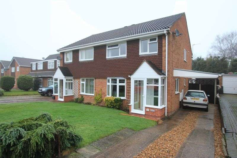 3 Bedrooms Semi Detached House for sale in Springfield Drive, Wheaton Aston, Stafford