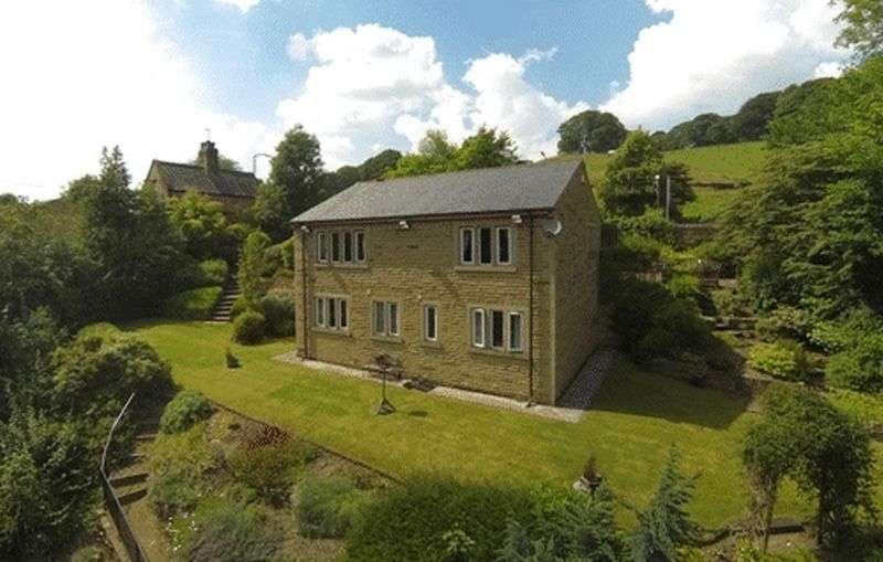 4 Bedrooms Detached House for sale in Burnley Road, Sowerby Bridge