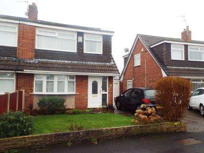 3 Bedrooms Semi Detached House for sale in Wasdale Avenue, Maghull, Liverpool, Merseyside, L31