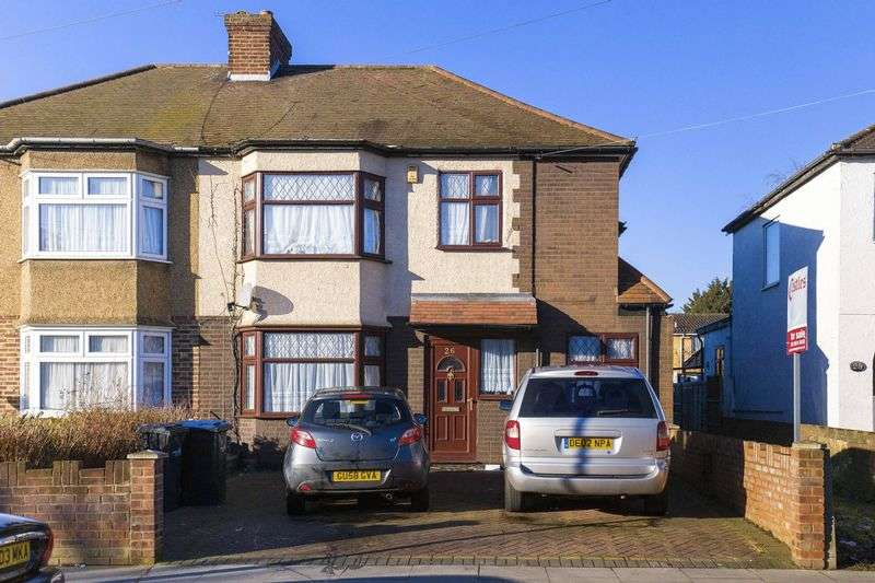 4 Bedrooms Semi Detached House for sale in Tysoe Avenue, Enfield