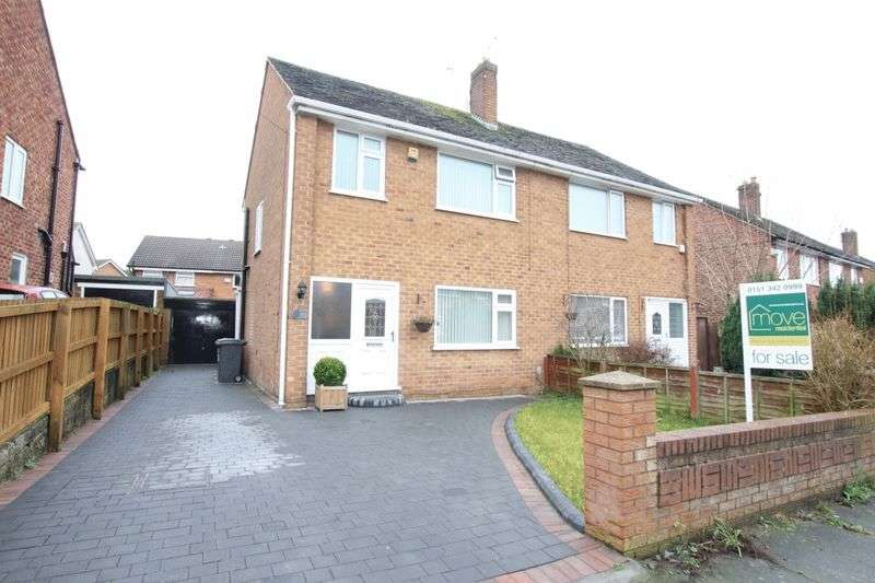 3 Bedrooms Semi Detached House for sale in Slingsby Drive, Upton, Wirral