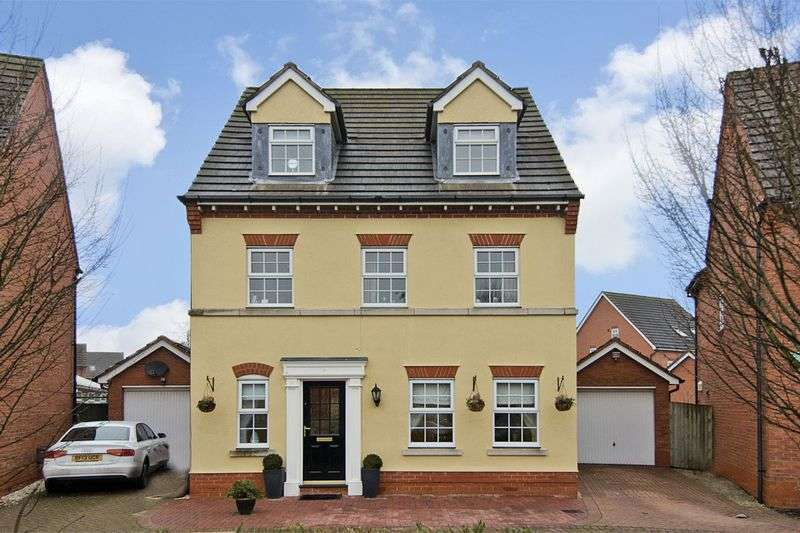 5 Bedrooms Detached House for sale in Turnbull Road, Lichfield