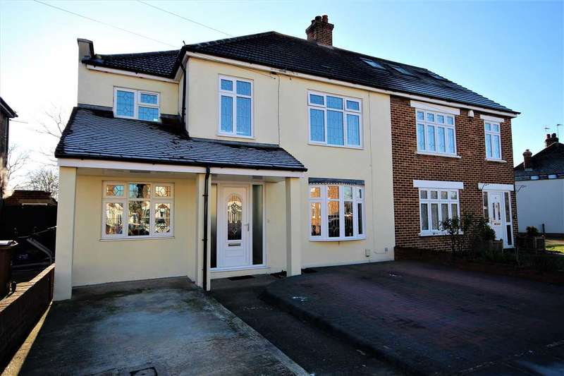 5 Bedrooms Semi Detached House for sale in Leasway