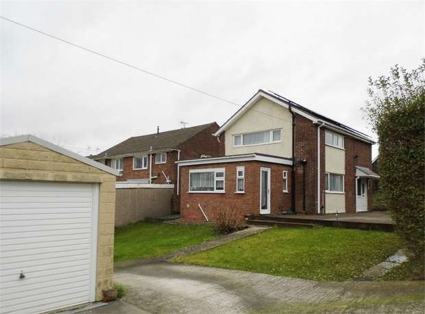 3 Bedrooms Detached House for sale in Merlin Crescent, Cefn Glas, Bridgend, Mid Glamorgan