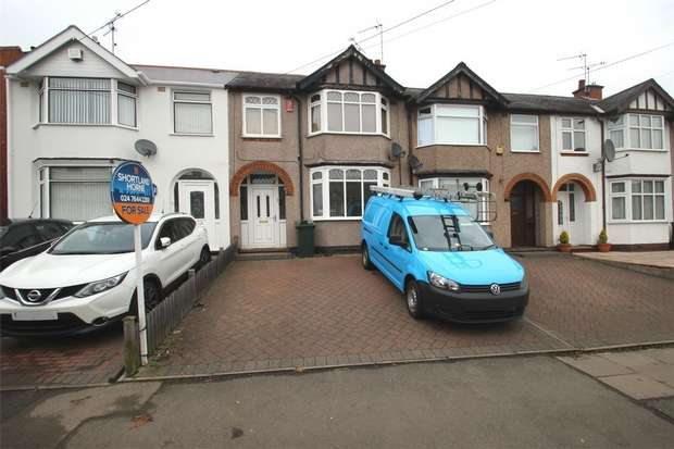 3 Bedrooms Terraced House for sale in Tennyson Road, Poets Corner, Coventry