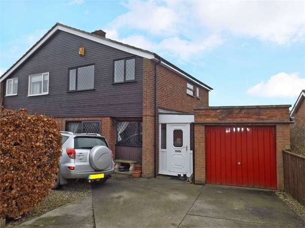 3 Bedrooms Semi Detached House for sale in Penhill Court, Northallerton, North Yorkshire