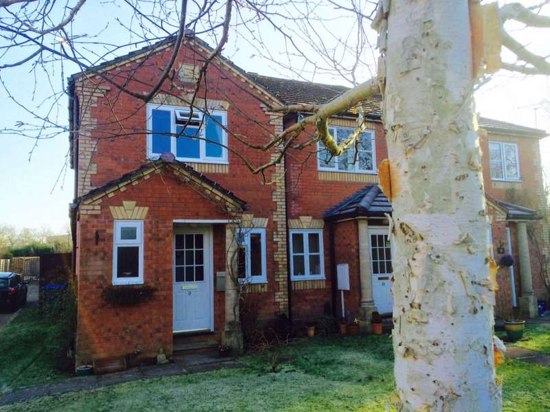 2 Bedrooms End Of Terrace House for sale in Blackbird Close, Burgess Hill