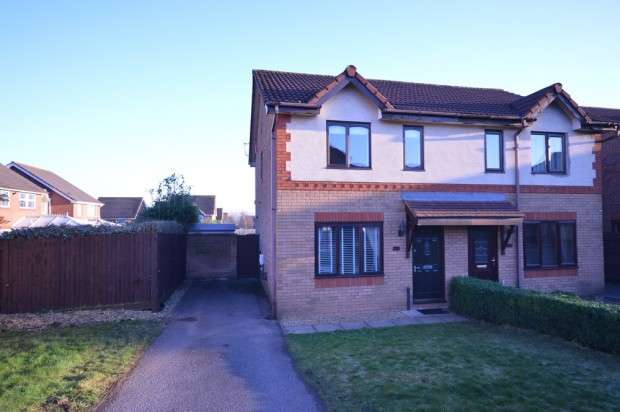 3 Bedrooms Semi Detached House for sale in Stoneleigh Drive, Barrs Court, BS30