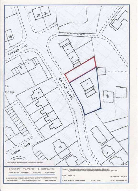 Land Commercial for sale in 5 Castle Close, Tenbury Wells