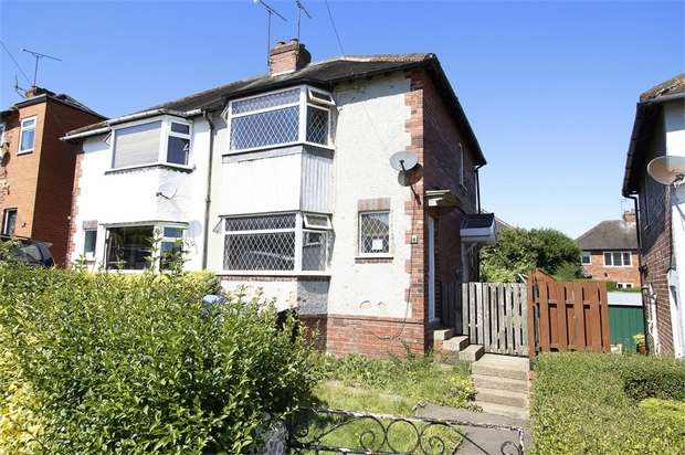 2 Bedrooms Semi Detached House for sale in Rowdale Crescent, Sheffield, South Yorkshire
