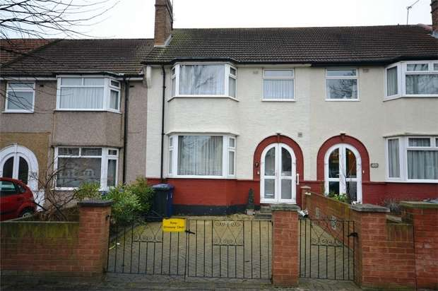 3 Bedrooms Terraced House for sale in Ennismore Avenue, GREENFORD, Middlesex