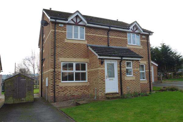2 Bedrooms Semi Detached House for sale in Mulberry Court, Golcar, Huddersfield