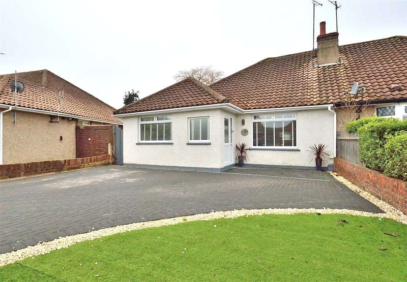 3 Bedrooms Semi Detached Bungalow for sale in Manor Way, Lancing, West Sussex, BN15