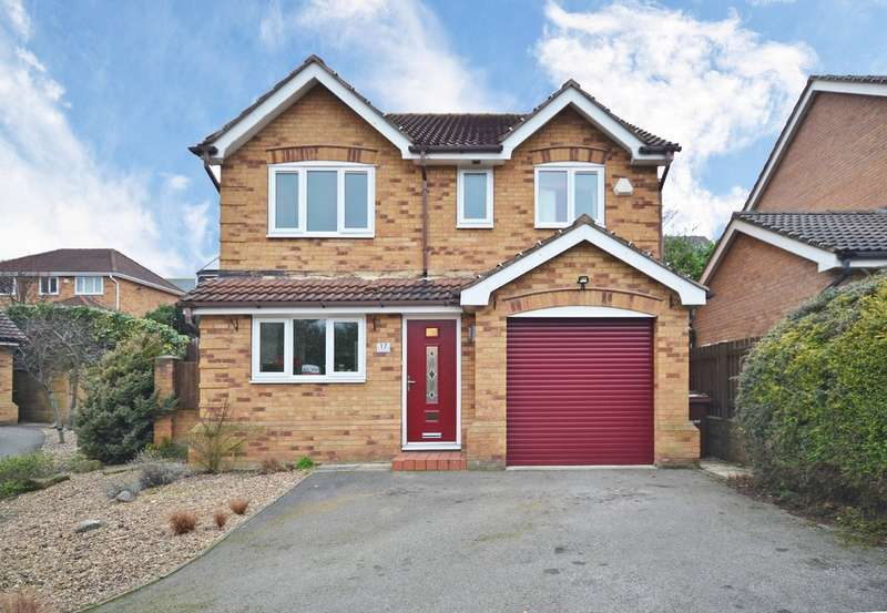 4 Bedrooms Detached House for sale in Tavistock Way, Crigglestone, Wakefield