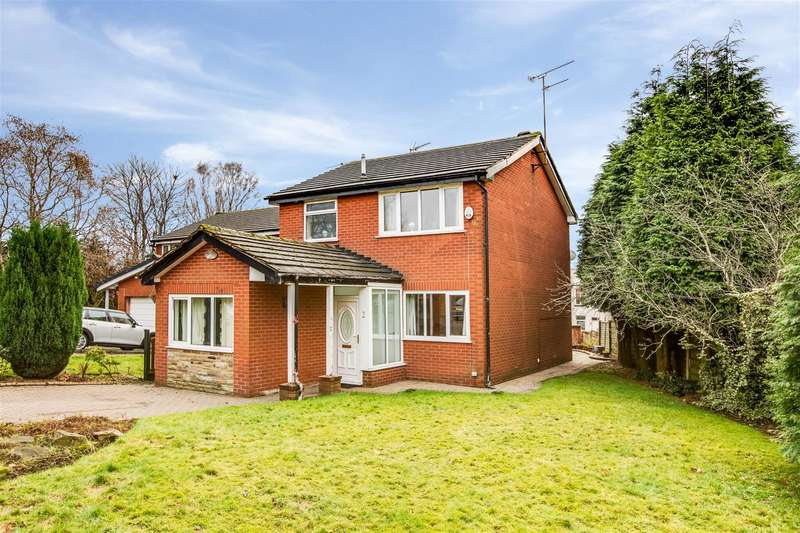 3 Bedrooms Detached House for sale in Edward St, Wardle, OL12 9NR