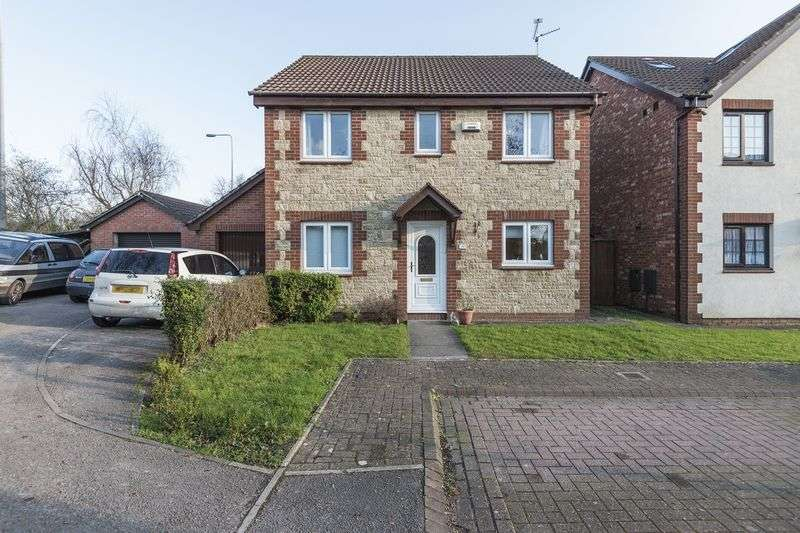 4 Bedrooms Detached House for sale in Kember Close, Cardiff
