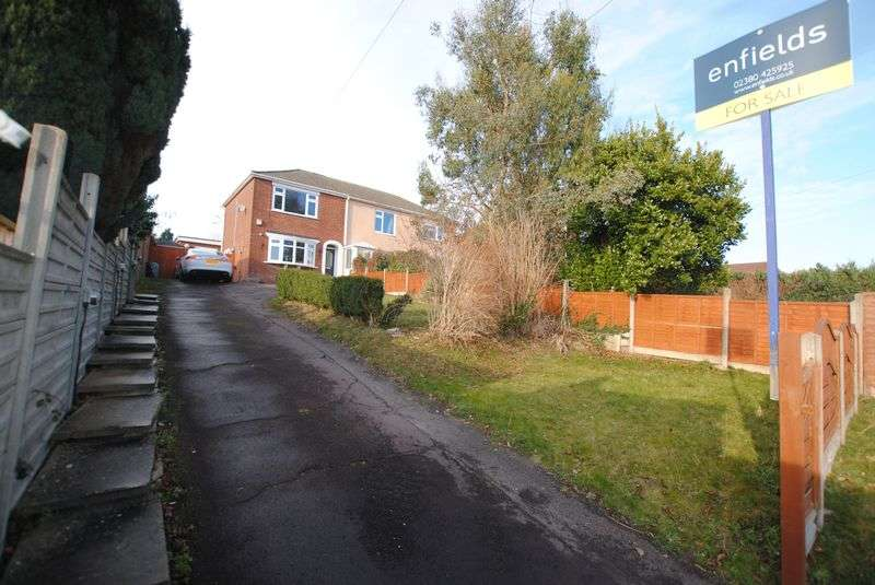 3 Bedrooms Semi Detached House for sale in Botany Bay Road, Sholing