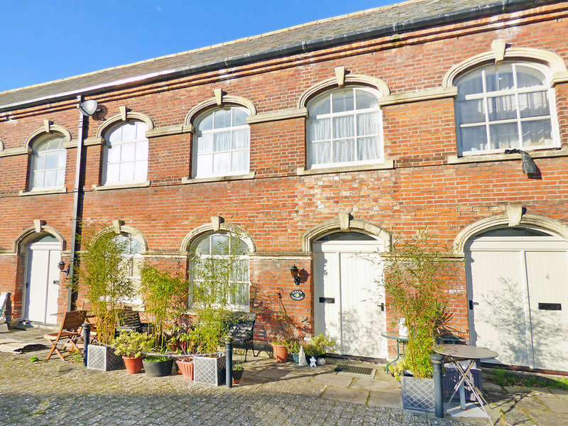 3 Bedrooms Terraced House for sale in Bitham Mill Courtyard, Westbury