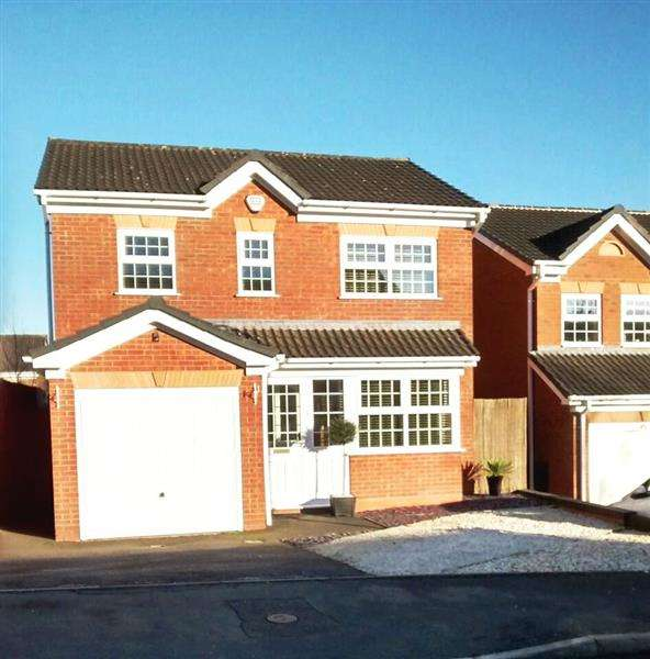 3 Bedrooms Detached House for sale in Checkley Road, Waterhayes, Newcastle