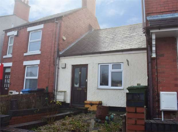 1 Bedroom Terraced Bungalow for sale in Fennant Road, Ponciau, Wrexham