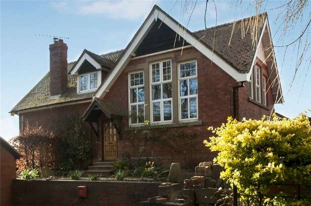 4 Bedrooms Detached House for sale in Norton Old School, Norton, Presteigne, Powys