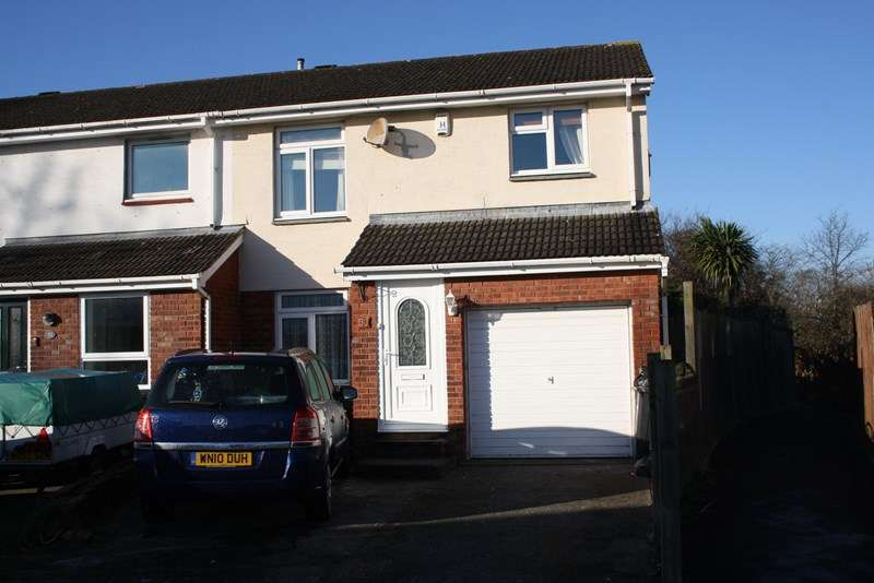 4 Bedrooms End Of Terrace House for sale in Abbots Close, Worle, Weston-Super-Mare