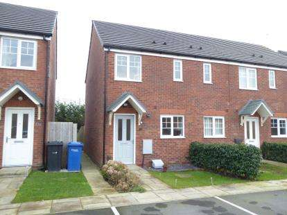2 Bedrooms End Of Terrace House for sale in Bretton Avenue, Warrington, Cheshire