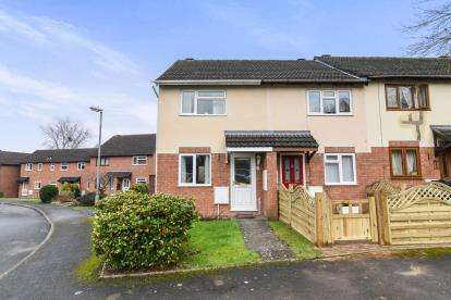 2 Bedrooms End Of Terrace House for sale in Shirley Close, Malvern, Worcestershire, Uk