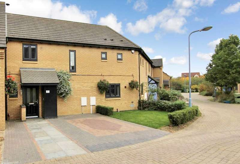 3 Bedrooms Terraced House for sale in Broughton, Milton Keynes, Buckinghamshire