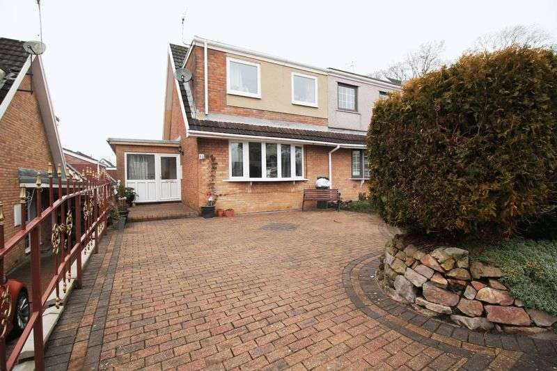 2 Bedrooms Semi Detached House for sale in Tylcha Fach Estate, TONYREFAIL, CF39 8BT